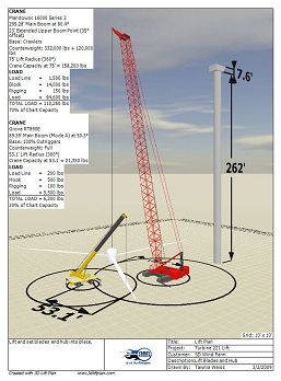 3D Lift Planning